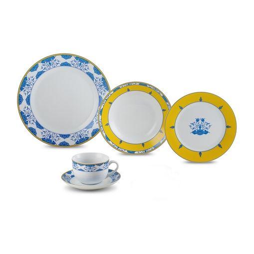 Aparelho de Jantar em Porcelana 20 Peças Amalfi Wolff