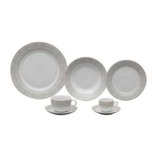 Aparelho de Jantar em Porcelana 42 Peças Saragoça Wolff