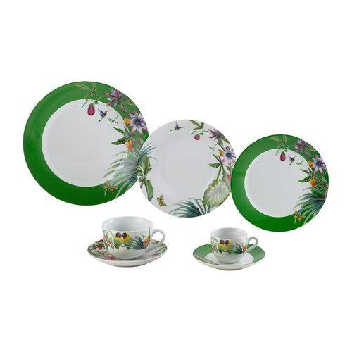 Aparelho de Jantar em Porcelana 42 Peças Vigo Wolff