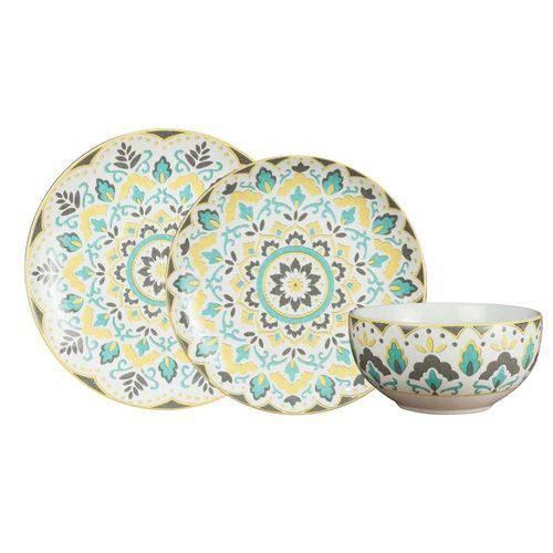 Aparelho de Jantar Morlac 18 Peças em Porcelana - 21803