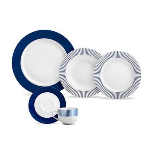 Aparelho de Jantar Porcelana Navy 20 Peças