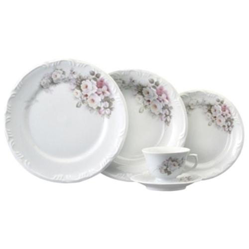 Aparelho de Jantar Schmidt Eterna 20 Peças em Porcelana
