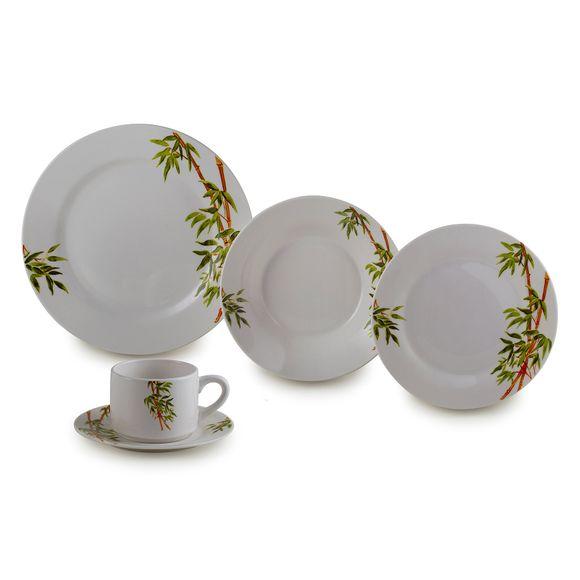 Aparelho Jantar em Porcelana 20 Peças Tropicalis - Lyor - 2135