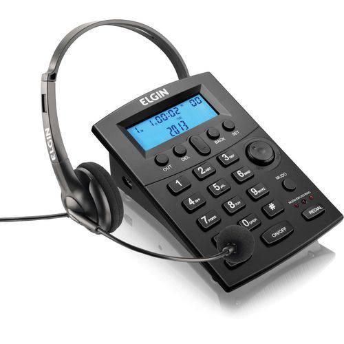 Aparelho Telefonico com Fio Headset Hst-8000 C/display Az