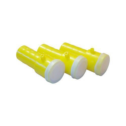 Apito Buzina Amarelo - Pacote com 3 Unidades