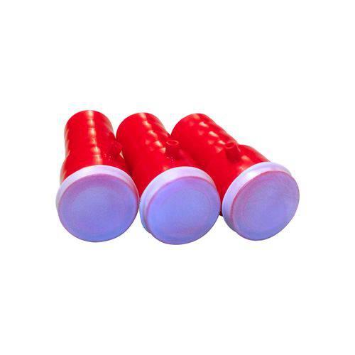 Apito Buzina Vermelho - 01 Unidade