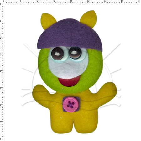 Aplicação Z Apliques Toy Art 69103 - 1 Unid