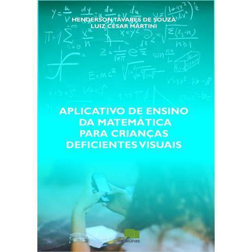 Aplicativo de Ensino da Matemática para Crianças Deficientes Visuais