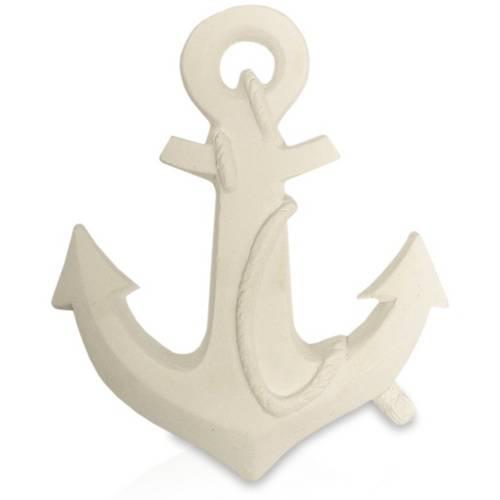 Aplique Âncora de Navio Marinheiro 12x10x2 - Resina