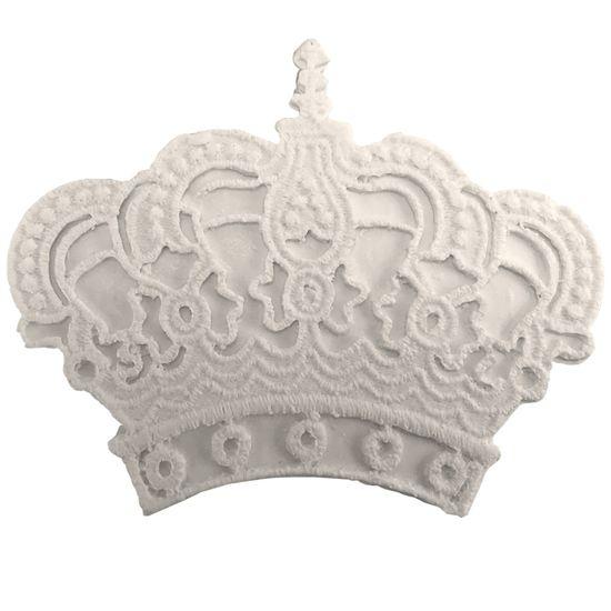 Aplique Coroa Russa 7x6cm - Resina