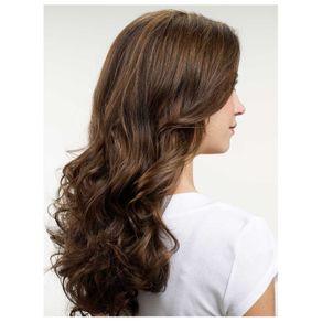 Aplique de Cabelo Hairdo 58cm Ondulado Avelã