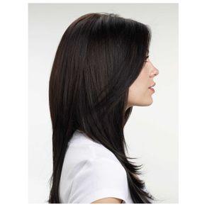 Aplique de Cabelo Hairdo 64cm Liso Castanho Super Escuro