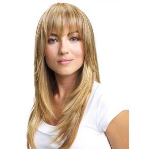 Aplique de Cabelo Hairdo Franja Dourado com Californiana