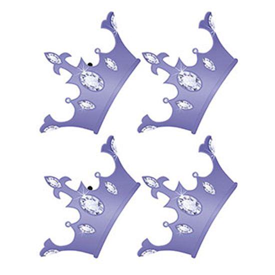 Aplique Decoupage em Papel e MDF Coroa APM3-181 - Litoarte