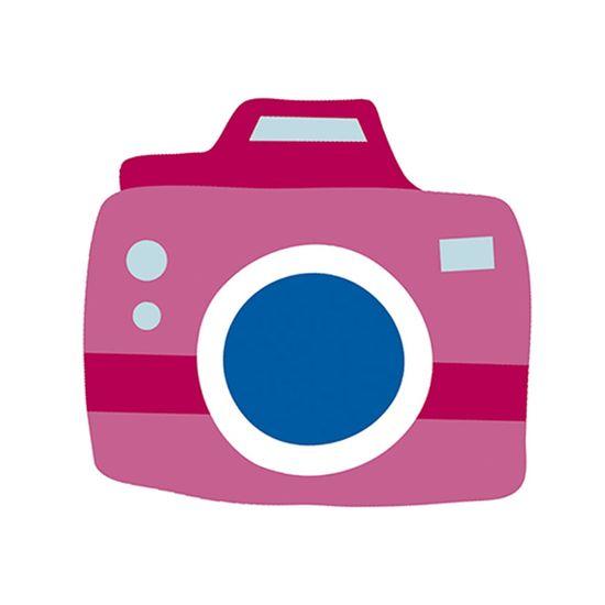 Aplique Decoupage Litoarte APM8-1215 em Papel e MDF 8cm Amor Love Story Máquina Fotográfica