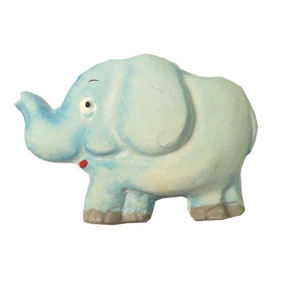 Aplique Elefante Grande - Resina Decorada