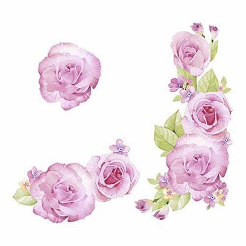 Aplique em Chipboard Litoarte Crl-005 Recortado a LASER Rosas Shabby