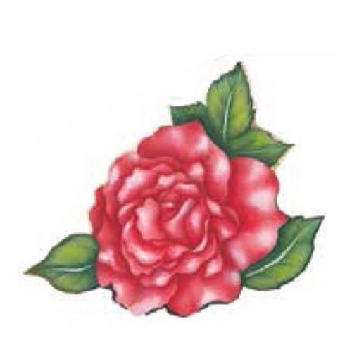 Aplique Madeira e Papel Flores Lmapc-218 - Litocart