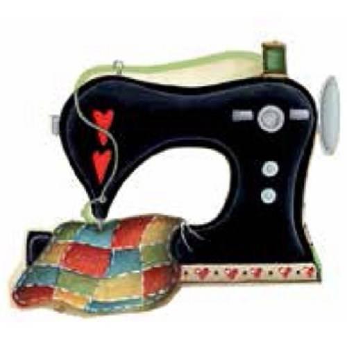 Aplique Madeira e Papel Maquina Costura Lmapc-181 - Litocart