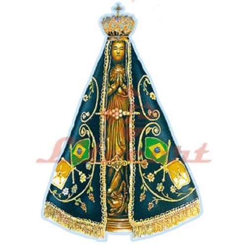 Aplique Madeira e Papel Religioso LMAPC-88 Litocart
