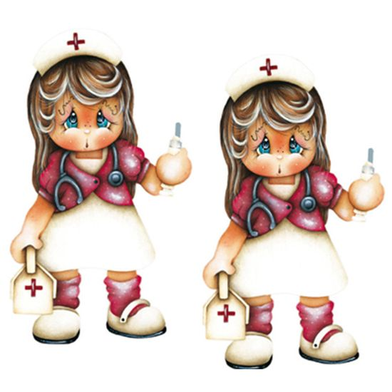 Aplique MDF Decoupage com 2 Unidades Medica LMAP-031 - Litocart