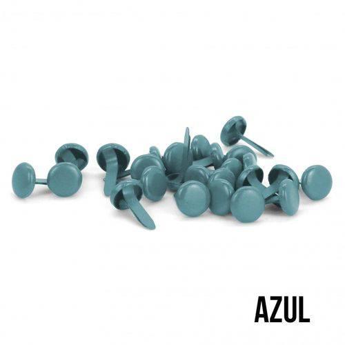 Apliques Metálicos Azul 25 Peças - AM1113 - Toke e Crie