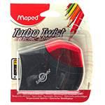 Apontador Automático à Pilha C/ Depósito Turbo Twist - 1 Furo - Maped