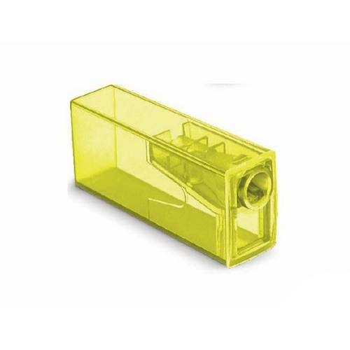 Apontador C/ Depósito Neon Amarelo - Faber Castell
