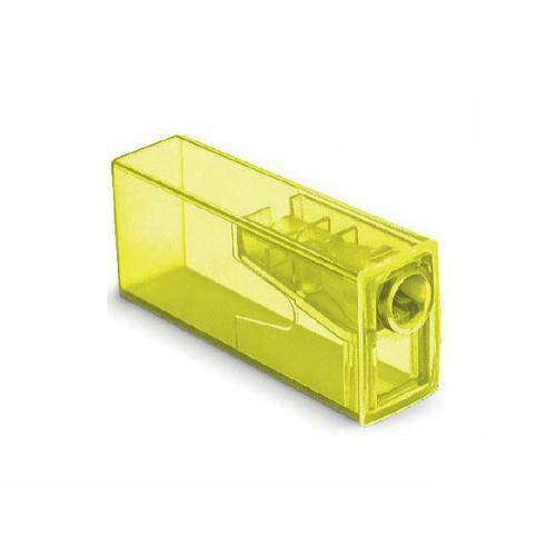 Apontador C/ Depósito Neon Faber Castell