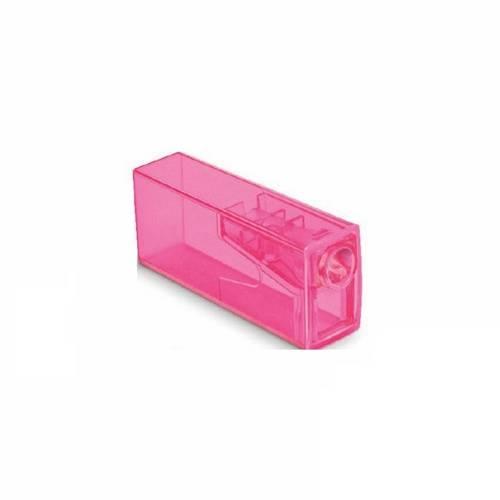 Apontador C/ Depósito Neon Rosa - Faber Castell