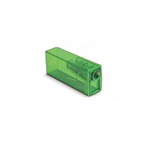Apontador C/ Depósito Neon Verde - Faber Castell