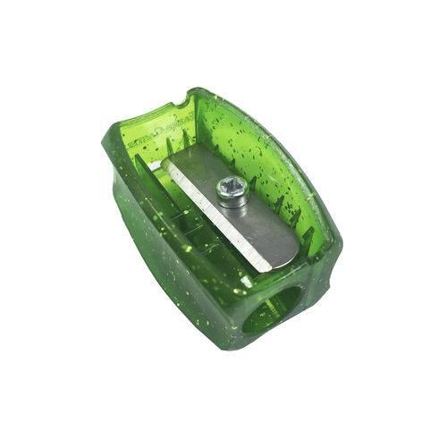 Apontador Clássico Glitz Verde - Faber Castell