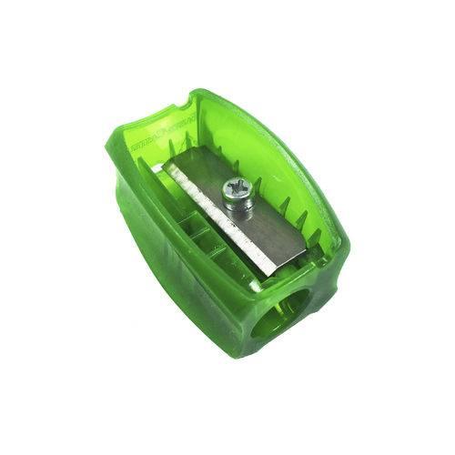 Apontador Clássico Neon Verde - Faber Castell