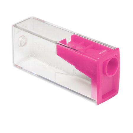 Apontador com Depósito Faber Castell - Rosa