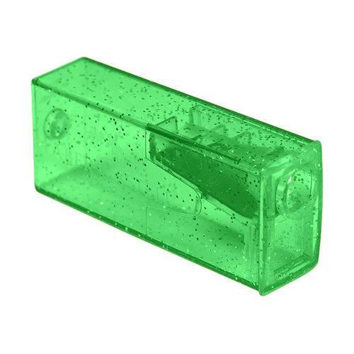 Apontador com Depósito Glitz Verde - Faber-Castell