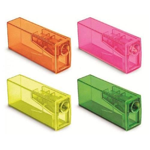 Apontador com Depósito Neon Faber Castell 1 Un