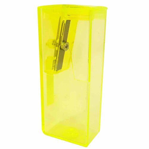 Apontador com Depósito Neon Faber Castell 1022905