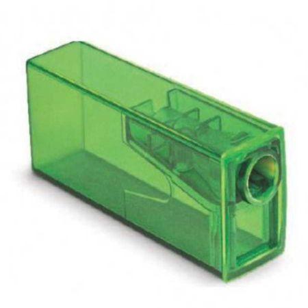 Apontador com Depósito Neon Faber Castell - Verde