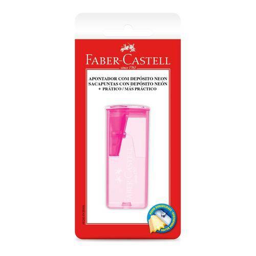 Apontador com Depósito Neon - Faber Castell