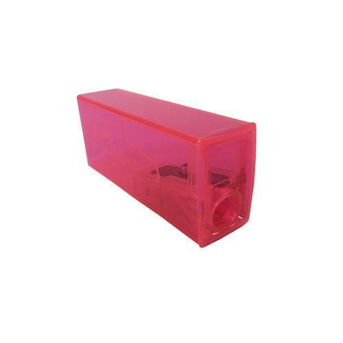 Apontador com Depósito Neon Rosa - Faber Castell