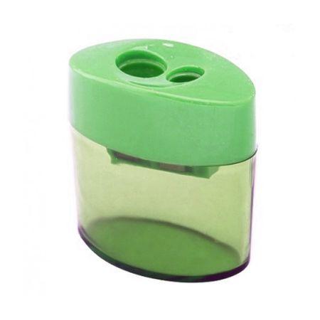 Apontador Duplo com Depósito 346 Cis - Verde