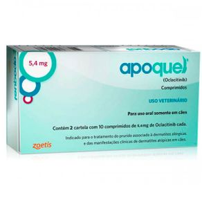 Apoquel 5,4mg 20 Comp.