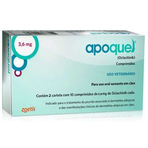 Apoquel 3,6mg 20 Comp.