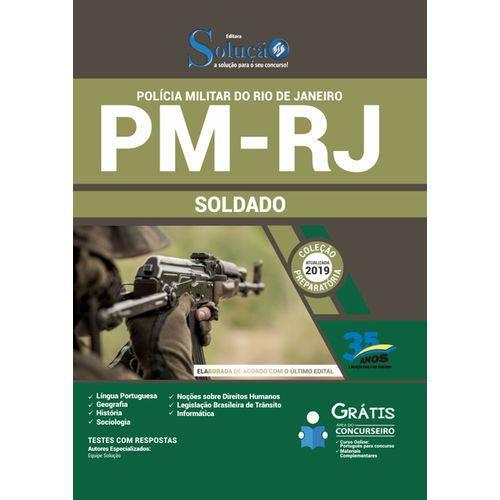 Apostila Concurso Pm Rj 2019 - Soldado