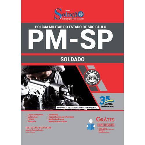 Apostila Concurso Pm Sp 2019 - Soldado