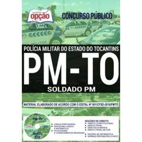 Apostila Concurso Pm To 2018 - Soldado Pm