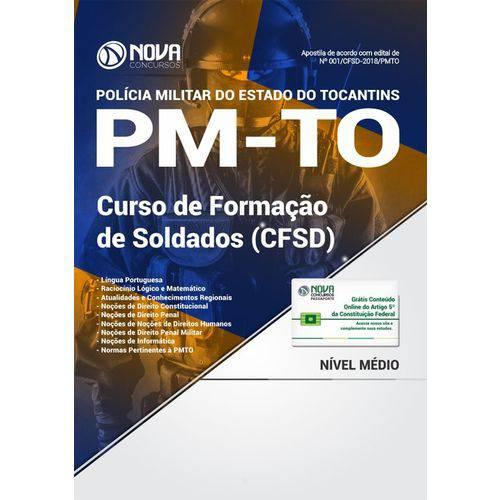 Apostila Concurso Pm To 2018 - Soldado