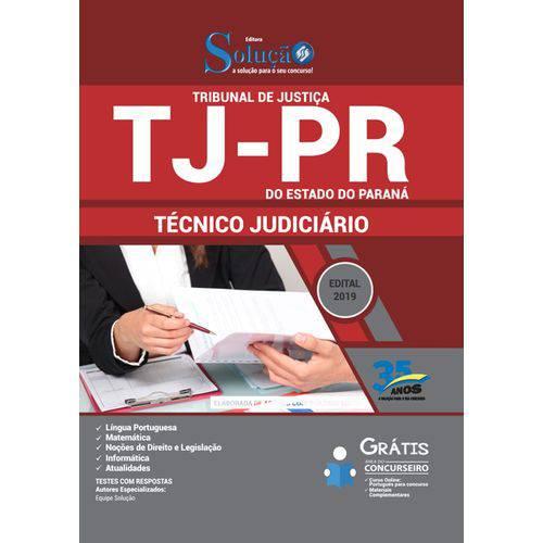 Apostila Concurso Tj Pr 2019 - Técnico Judiciário