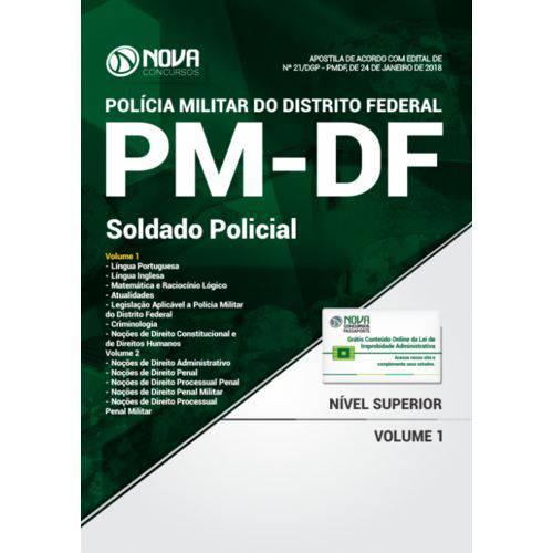 Apostila Pm-Df 2018 - Soldado Policial