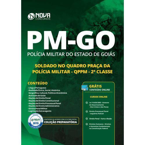Apostila Pm-go 2019 Soldado no Quadro Praça Pm Qppm 2 Classe